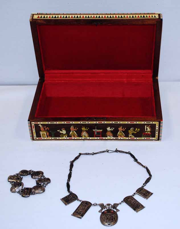 Egyptian Jewelry Box The Art of War Initiative